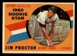 1960 Topps #141  Rookie Stars  -  Jim Proctor Front Thumbnail
