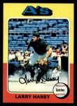 1975 Topps #626   Larry Haney Front Thumbnail