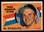 1960 Topps #144   -  Al Stieglitz Rookies Front Thumbnail