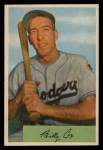 1954 Bowman #26 COR  Billy Cox Front Thumbnail