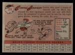 1958 Topps #266   Connie Johnson Back Thumbnail