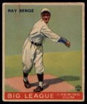 1933 Goudey #141  Ray Benge  Front Thumbnail