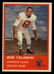 1963 Fleer #39   Bob Talamini Front Thumbnail
