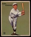 1933 Goudey #213   Earl Adams Front Thumbnail