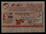 1958 Topps #359   Billy Loes Back Thumbnail