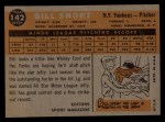 1960 Topps #142   -  Bill Short Rookies Back Thumbnail
