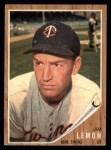 1962 Topps #510  Jim Lemon  Front Thumbnail