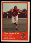 1963 Fleer #9   Tom Addison Front Thumbnail