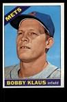 1966 Topps #108   Bobby Klaus Front Thumbnail