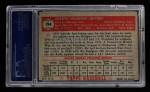 1952 Topps #194   Joe Hatten Back Thumbnail
