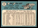 1965 Topps #491  Tracy Stallard  Back Thumbnail