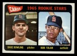 1965 Topps #116   Cardinals Rookie Stars  -  Dave Dowling / Bobby Tolan Front Thumbnail