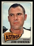 1965 Topps #451  Jim Owens  Front Thumbnail