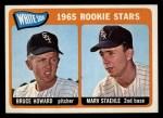1965 Topps #41  White Sox Rookies  -  Bruce Howard / Marv Staehle Front Thumbnail
