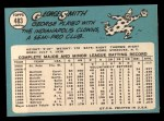 1965 Topps #483  George Smith  Back Thumbnail