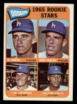 1965 Topps #561   Dodgers Rookie Stars  -  Mike Kekich / Jim LeFebvre / Hector Valle / Dennis Daboll Front Thumbnail