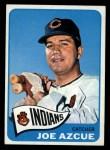 1965 Topps #514   Joe Azcue Front Thumbnail