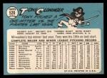1965 Topps #520   Tony Cloninger Back Thumbnail