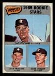 1965 Topps #553  Astros Rookies  -  Jack McClure / Dan Coombs / Gene Ratliff Front Thumbnail