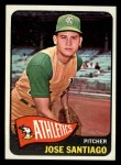 1965 Topps #557   Jose Santiago Front Thumbnail