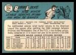 1965 Topps #324   Bobby Locke Back Thumbnail