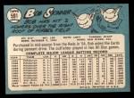 1965 Topps #591   Bob Skinner Back Thumbnail