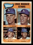 1965 Topps #561   Dodgers Rookie Stars  -  Mike Kekich / Jim LeFebvre / Hector Valle / Dennis Daboll Front Thumbnail