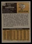 1971 Topps #120   Fran Tarkenton Back Thumbnail