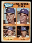 1965 Topps #561  Dodgers Rookies  -  Mike Kekich / Jim LeFebvre / Hector Valle / Dennis Daboll Front Thumbnail