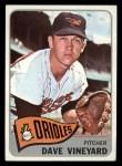 1965 Topps #169   Dave Vineyard Front Thumbnail