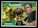 1968 Topps #194  Daryle Lamonica  Front Thumbnail