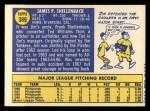 1970 #389 ^COR^ Jim Shellenback  Back Thumbnail