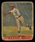 1933 Goudey #20  Bill Terry  Front Thumbnail