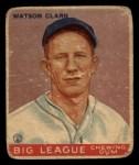 1933 Goudey #17   Watson Clark Front Thumbnail
