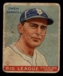 1933 Goudey #72   Owen Carroll Front Thumbnail