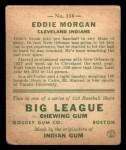 1933 Goudey #116   Eddie Morgan Back Thumbnail