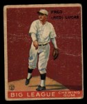 1933 Goudey #137  Red Lucas  Front Thumbnail