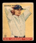 1933 Goudey #12  George Pipgras  Front Thumbnail
