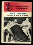 1961 Fleer #45   Paul Arizin Front Thumbnail