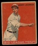 1933 Goudey #14   Henry Johnson Front Thumbnail