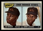 1965 Topps #16   Houston Rookie Stars  -  Joe Morgan / Sonny Jackson Front Thumbnail
