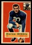 1956 Topps #32   Dorne Dibble Front Thumbnail