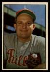 1953 Bowman #28   Smoky Burgess Front Thumbnail