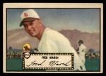 1952 Topps #8 BLK  Fred Marsh Front Thumbnail