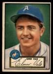 1952 Topps #34 RED  Elmer Valo Front Thumbnail