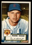 1952 Topps #146 COR  Frank House Front Thumbnail