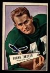 1952 Bowman Large #119  Frank Ziegler  Front Thumbnail