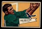 1952 Bowman Large #138  Bob Walston  Front Thumbnail