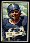 1952 Bowman Large #115  Keith Flowers  Front Thumbnail