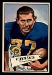 1952 Bowman Large #73   Vitamin Smith Front Thumbnail